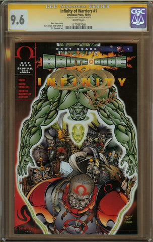 Infinity of Warriors #1 CGC 9.6