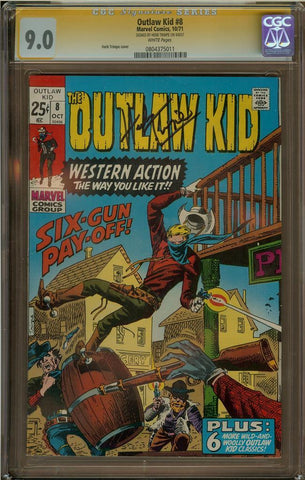 Outlaw Kid #8 CGC 9.0