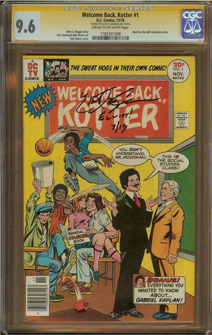 Welcome Back Kotter #1 CGC 9.6