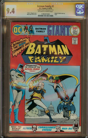 Batman Family #1 CGC 9.4