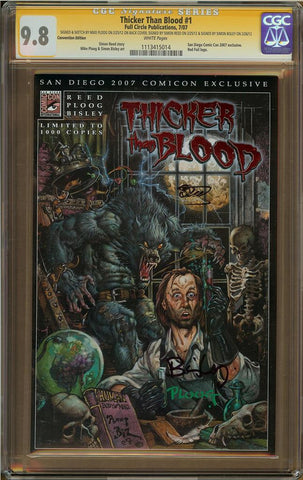 Thicker Than Blood #1 Convention Edition CGC 9.8