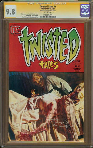 Twisted Tales #6 CGC 9.8