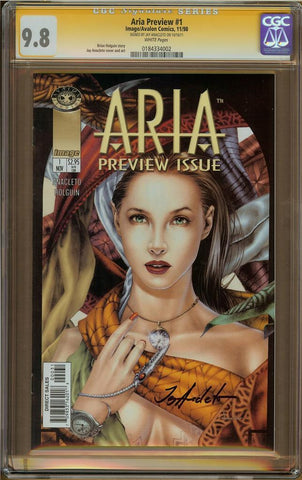Aria Preview #1 CGC 9.8