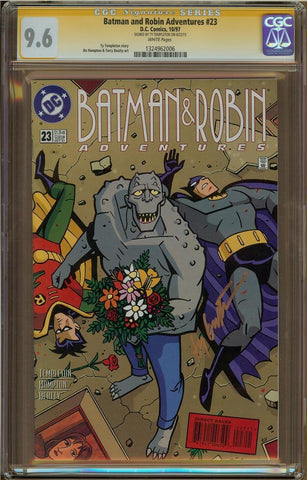 Batman and Robin Adventures #23 CGC 9.6