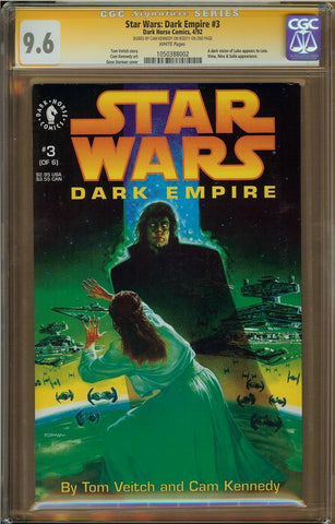 Star Wars: Dark Empire #3 CGC 9.6
