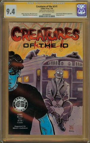 Creatures of the ID #1 CGC 9.4