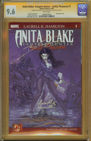Anita Blake: Vampire Hunter- Guilty Pleasures #1 CGC 9.6