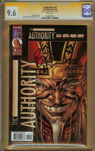 Authority #4 CGC 9.6