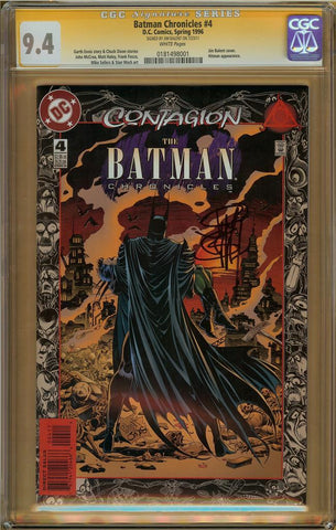 Batman Chronicles #4 CGC 9.4