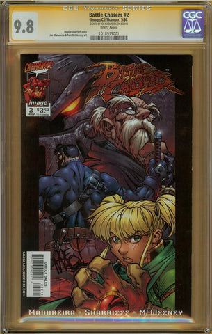 Battle Chasers #2 CGC 9.8