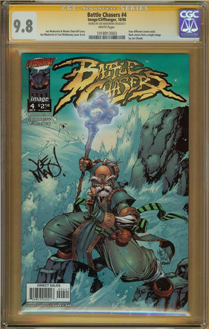 Battle Chasers #4 CGC 9.8