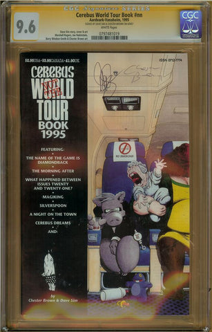 Cerebus World Tour #nn CGC 9.6