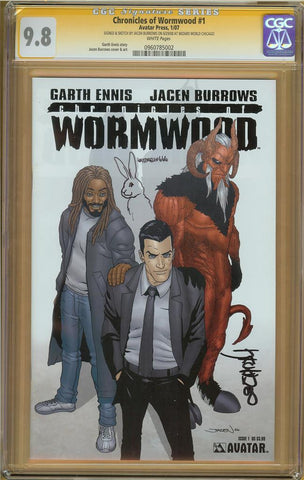 Chronicles of Wormwood #1 CGC 9.8