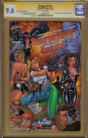 Danger Girl #1 Another Universe Edition CGC 9.6