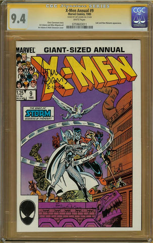 X-Men Annual #9 CGC 9.4 ARTHUR ADAMS