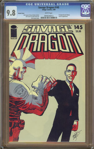 Savage Dragon #145 Variant CGC 9.8