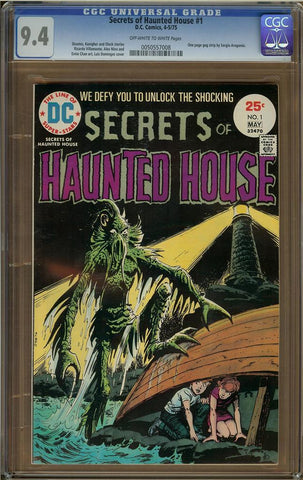 Secrets of Haunted House #1 CGC 9.4