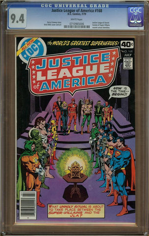 Justice League of America #168 CGC 9.4