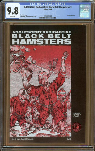 Adolescent Radioactive Black Belt Hamsters #1 CGC 9.8