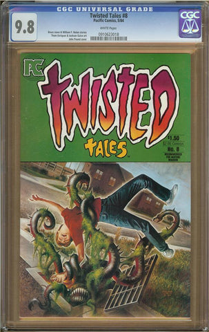 Twisted Tales #8 CGC 9.8