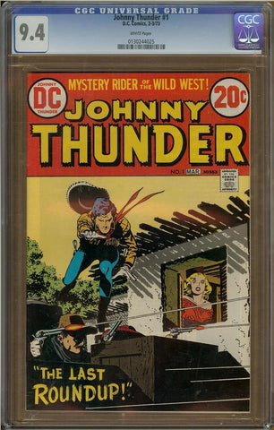 Johnny Thunder #1 CGC 9.4