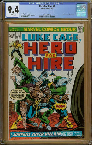 Hero for Hire #8 CGC 9.4