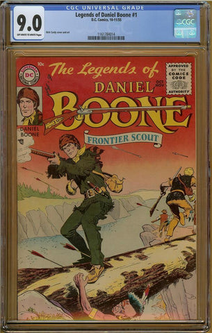 Legends of Daniel Boone #1 CGC 9.0