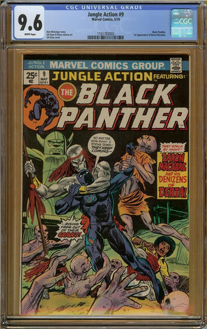 Jungle Action #9 CGC 9.6