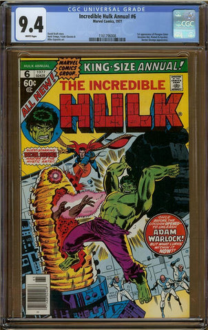 Incredible Hulk Annual #6 CGC 9.4