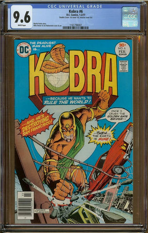 Kobra #6 CGC 9.6 Double Cover