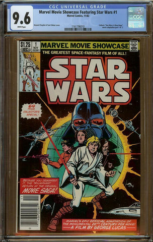 Marvel Movie Showcase Featuring Star Wars #1 CGC 9.6