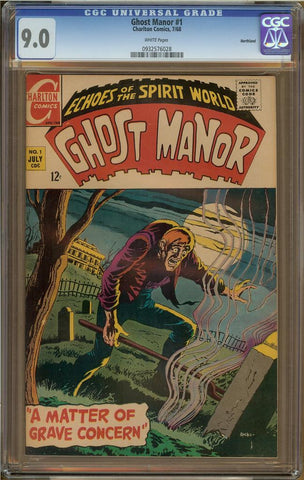 Ghost Manor #1 9.0