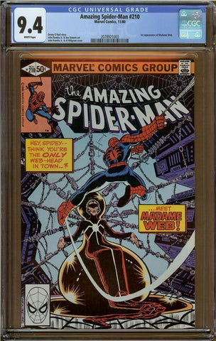 Amazing Spider-Man #210 CGC 9.4