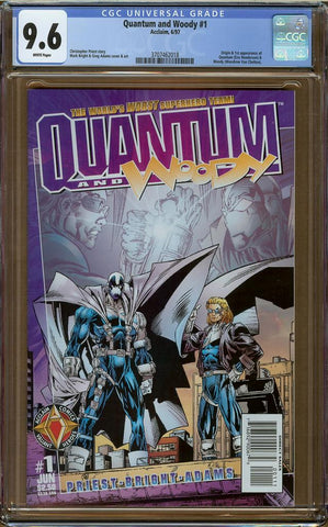 Quantum and Woody #1 CGC 9.6