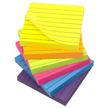 Load image into Gallery viewer, Teskyer-Lined-Sticky-Notes-3x3-Inch-Self-Stick-Notes-1