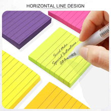 Load image into Gallery viewer, Teskyer-Lined-Sticky-Notes-3x3-Inch-Self-Stick-Notes-2