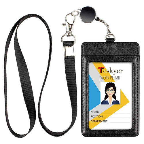 Teskyer-Premium-PU-Leather-ID-Badge-Holder-with-Retractable-Lanyard-1