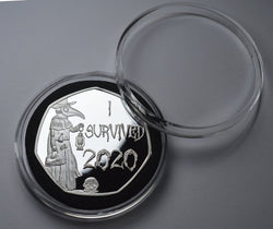 'I SURVIVED 2020' 999 Silver Commemoratives