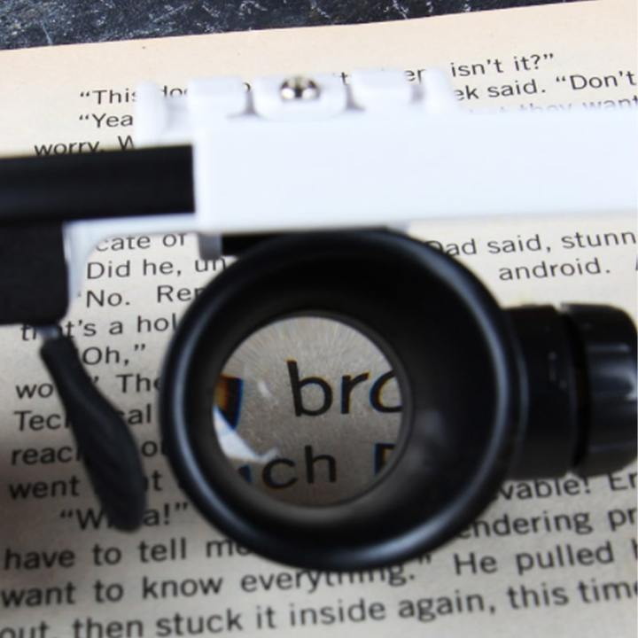 (50% OFF)LED Glasses Magnifier 8x 15x 23x