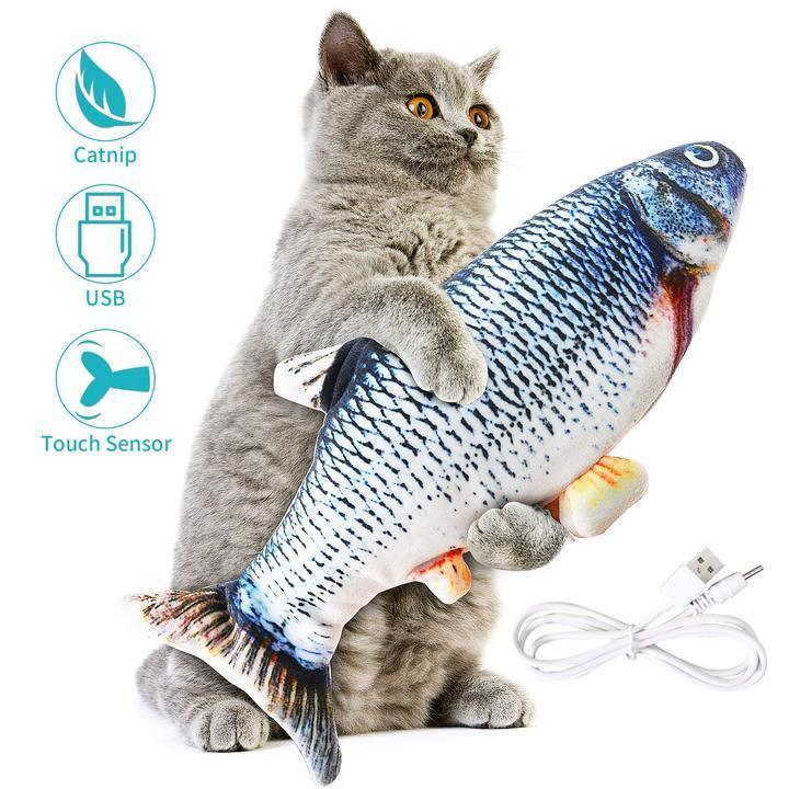 😻Floppy Fishy-Electric fish toy🐟