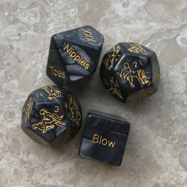 Couple fun dice Adult dice (4PC)