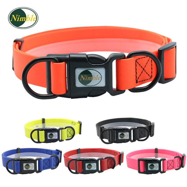 Dog collar PVC waterproof