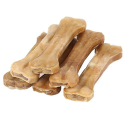 Dog Toy Supplies Chews - Leather Cowhide Bone