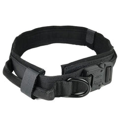 Dog Collar Adjustable Military Tactical