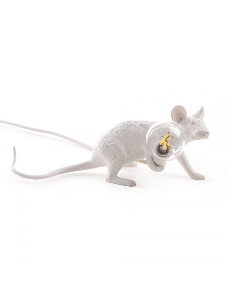 Mouse Lamp Lyie Down - SELETTI