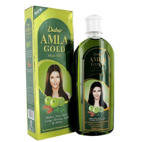 Dabur Amla GOLD Hair Oil Henna Almond Amla for Beautiful Hair