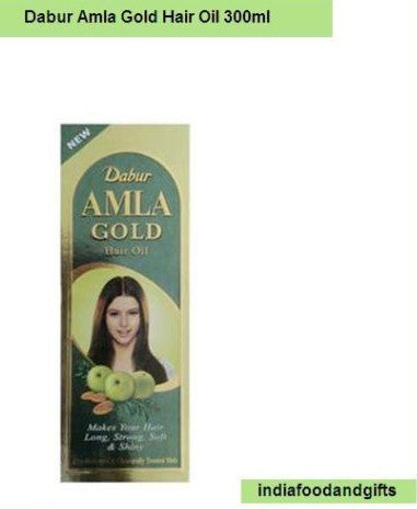 XXL 300mlDabur Amla GOLD Herbal Hair Oil Henna Almond USA Seller