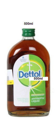 Dettol Antiseptic Liquid Disinfectant Cleaner First Aid Kills Germs - 500 ml - Indiafoodandgifts.com