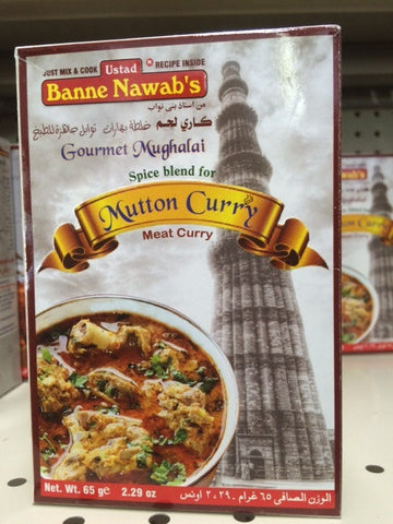 Banne Nawab's Mutton Curry