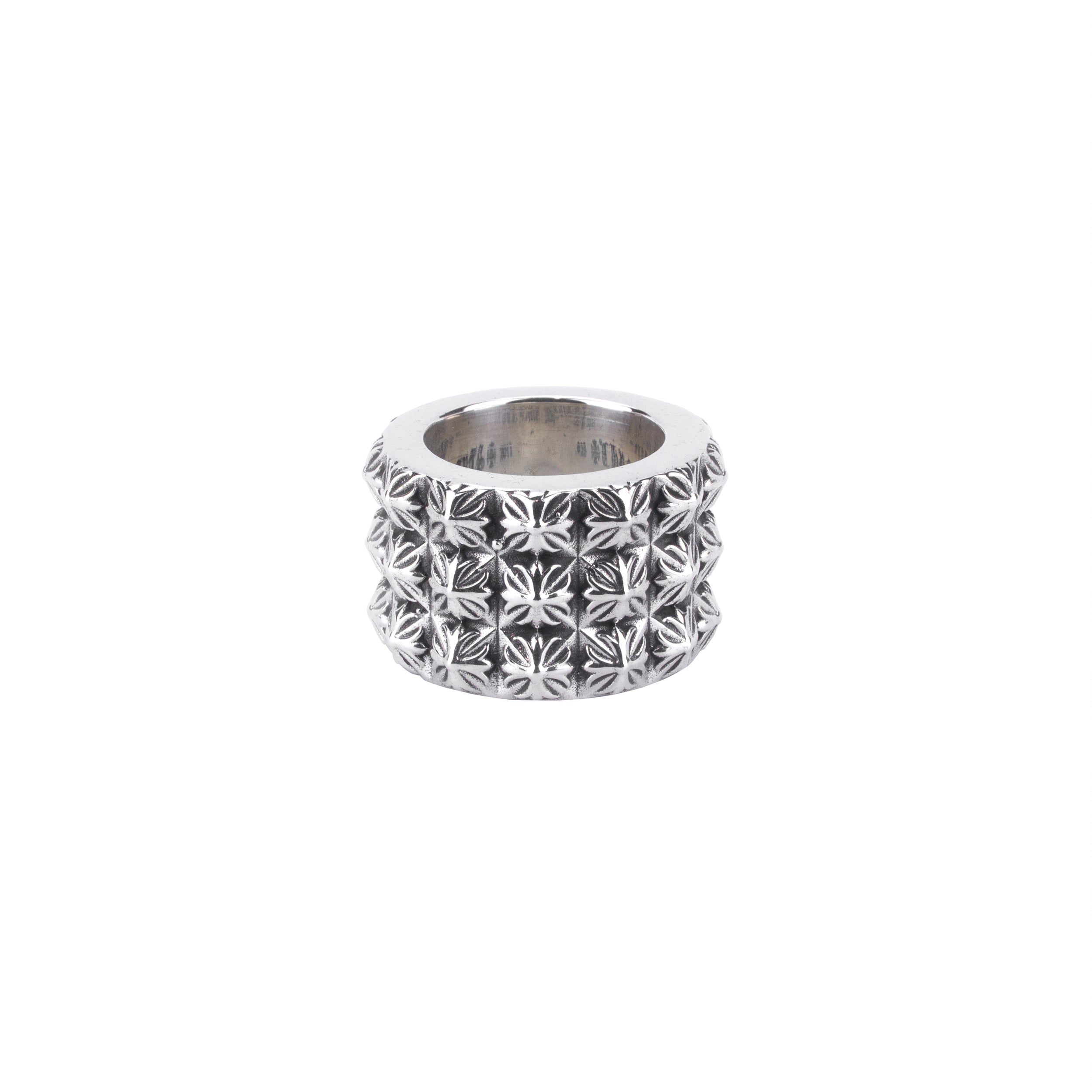 Chrome Hearts Triple Pete Punk Ring